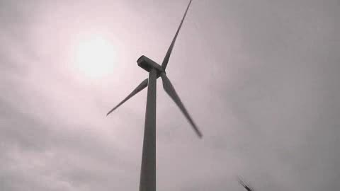 Get up close and personal with wind turbines in Weatherford