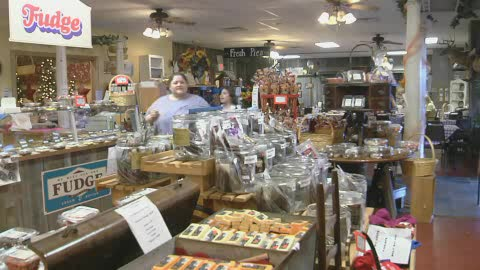 Eat and shop fresh items at the Amish Country Store & Restaurant