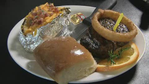 Rockin' H Steakhouse is in a small town, but serves up big flavor.