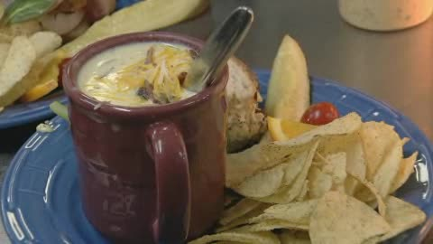 Silver Spoon in Lawton features hearty foods and great service.