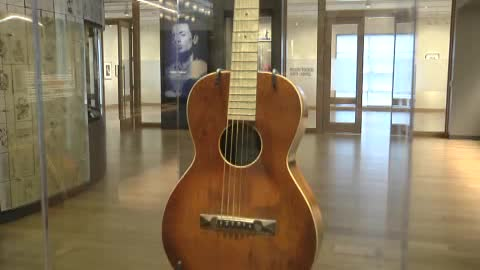 The Woody Guthrie Center in Tulsa celebrates all things Woody Guthrie.