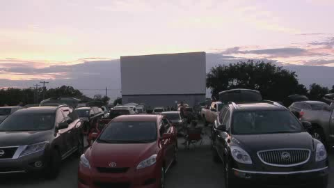 Guthrie's Beacon Drive-In Theatre offering nostalgic family fun.