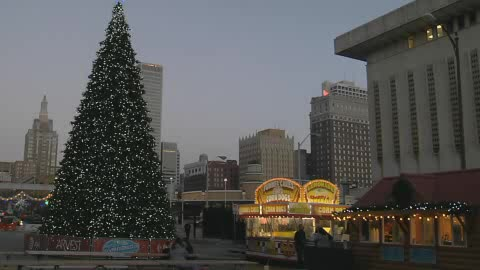 Winterfest in downtown Tulsa is a fun way to spend the holidays.
