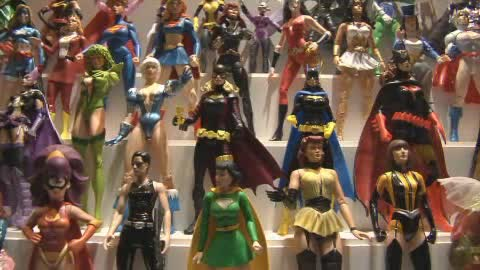 The Toy & Action Figure Museum is stuffed with memorable collectibles.