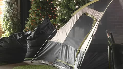 Urban Campout combines the experience of camping with indoor fun.