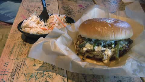The Garage in Edmond serves some of the best burgers in the state.