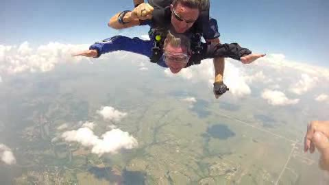 Everyone enjoys the rush of skydiving with Skydive Airtight.