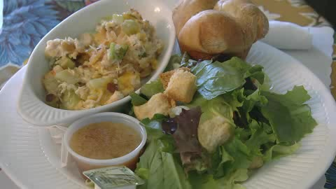 Located in Muskogee, Harmony House's food is full of flavor and love.