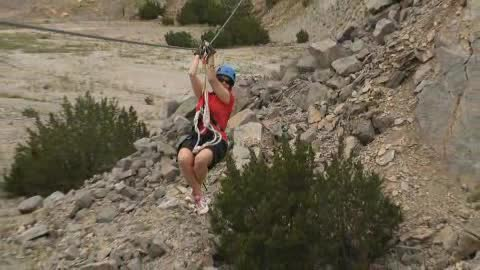 See the Arbuckle Mountains from up high with Air Donkey Zipline.