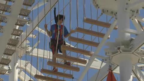 You can feed your inner adrenalie junkie at OKC Riversport Adventures.