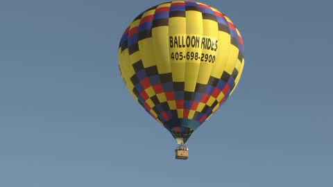 Have a high flying adventure by taking a ride with OKC Balloons Aloft.