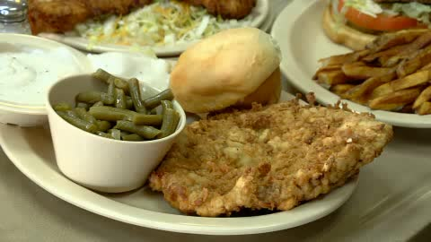 Southern dishes made from scratch make the Kozy Diner feel like home.