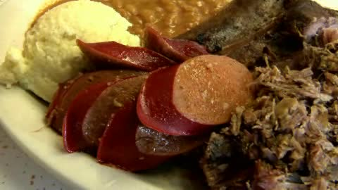 John & Cook's Real Pit Bar-B-Que offers homemade comfort food.