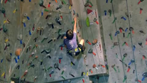 New Heights Rock Climbing Gym combines fun & exercise in Tulsa.