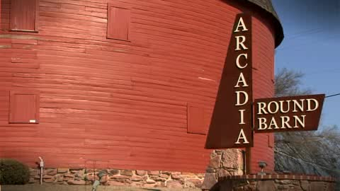 The Round Barn is a Route 66 landmark with plenty of history.