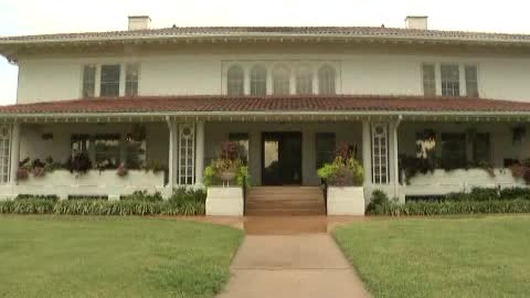 Historic first home of oil baron E.W. Marland.