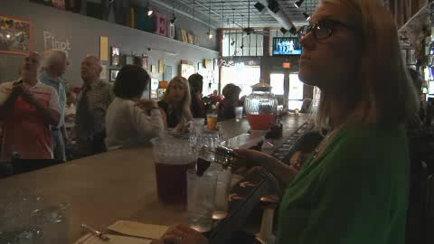 Relax with friends at UnWINEd in Ponca City