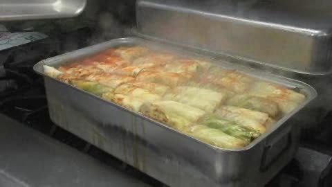 Holidays aren't complete in Sapulpa without Freddie's cabbage rolls.