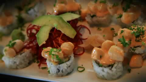 Enjoy a west coast dining experience at In the Raw Sushi.