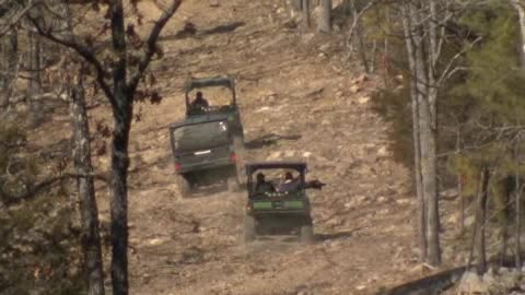 Get out and enjoy the new ATV trail at Robbers Cave.