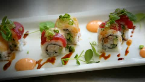 Asian fusion dining in Paseo Arts District