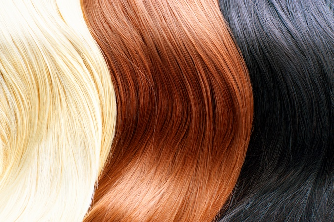 best makeup colors for blonds brunettes redheads and black hair