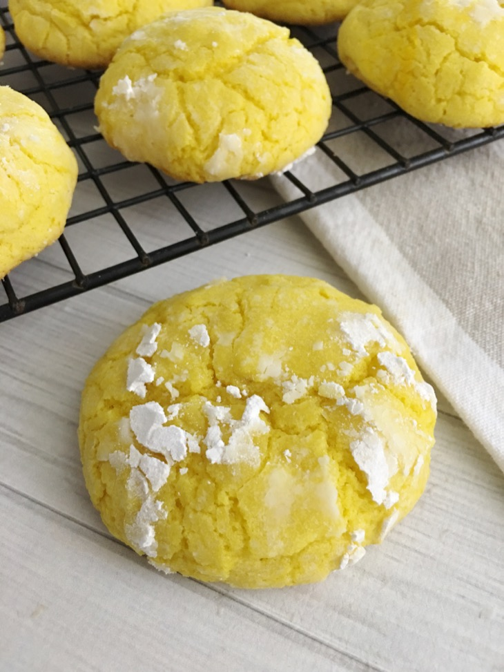 Lemon Crinkle Cookie Recipe - Easy and Delicious