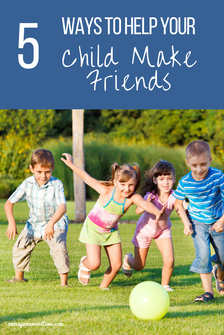 How to Help your Child Make More Friends