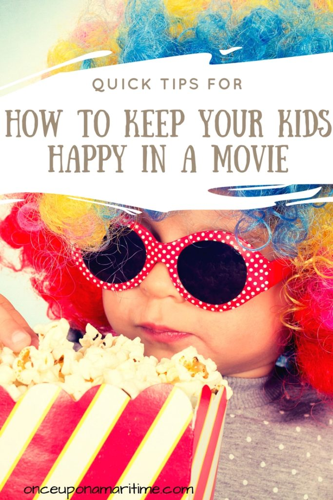 How to Keep Your Kids Happy in a Movie