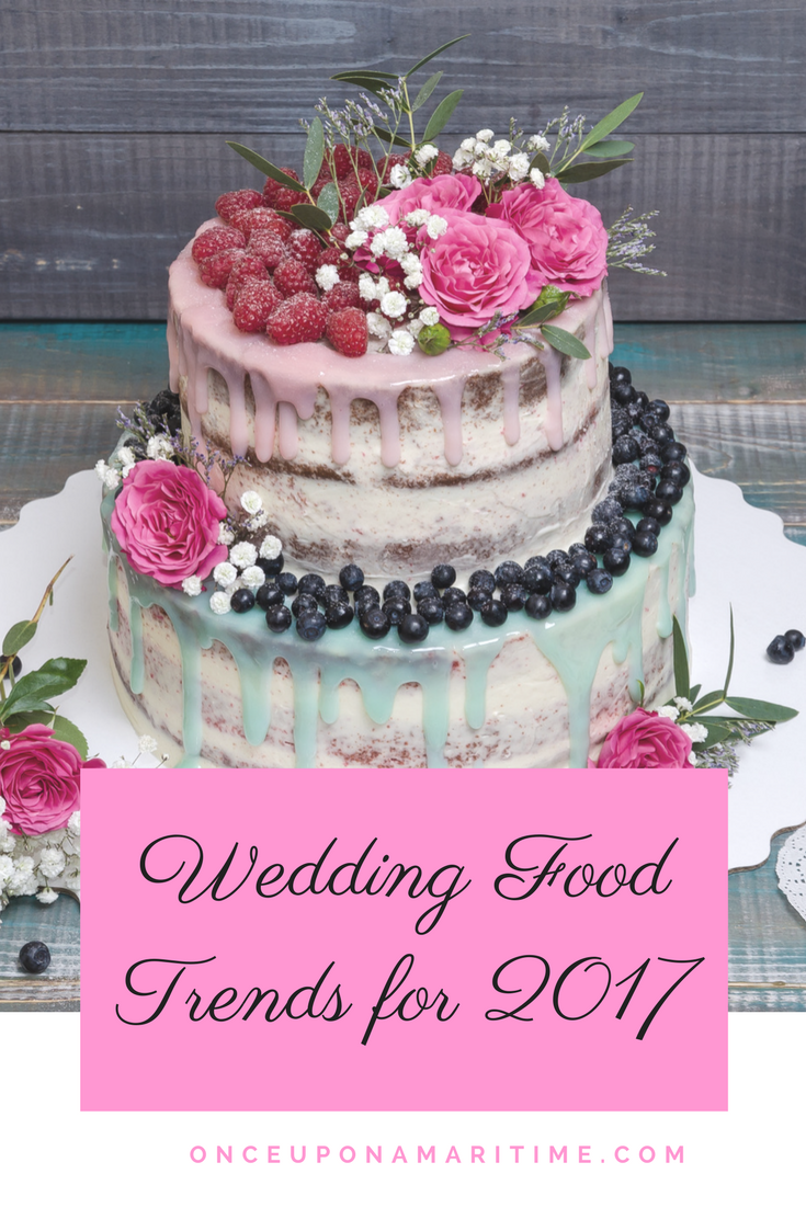 Wedding Food Trends for 2017