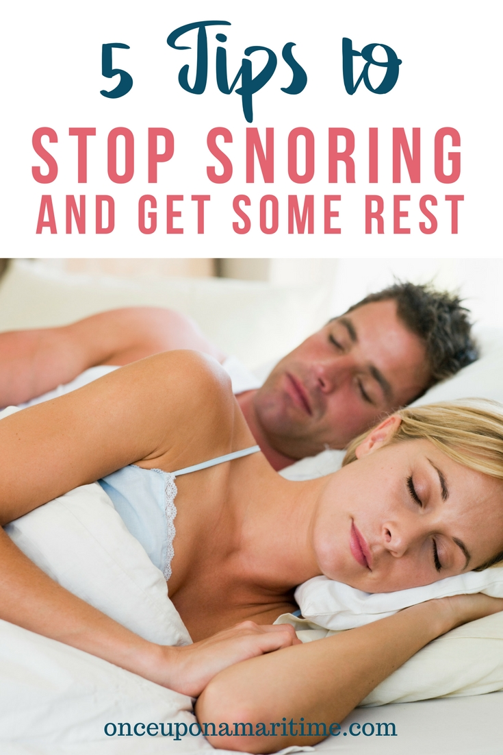 5 Tips to Stop you from Snoring