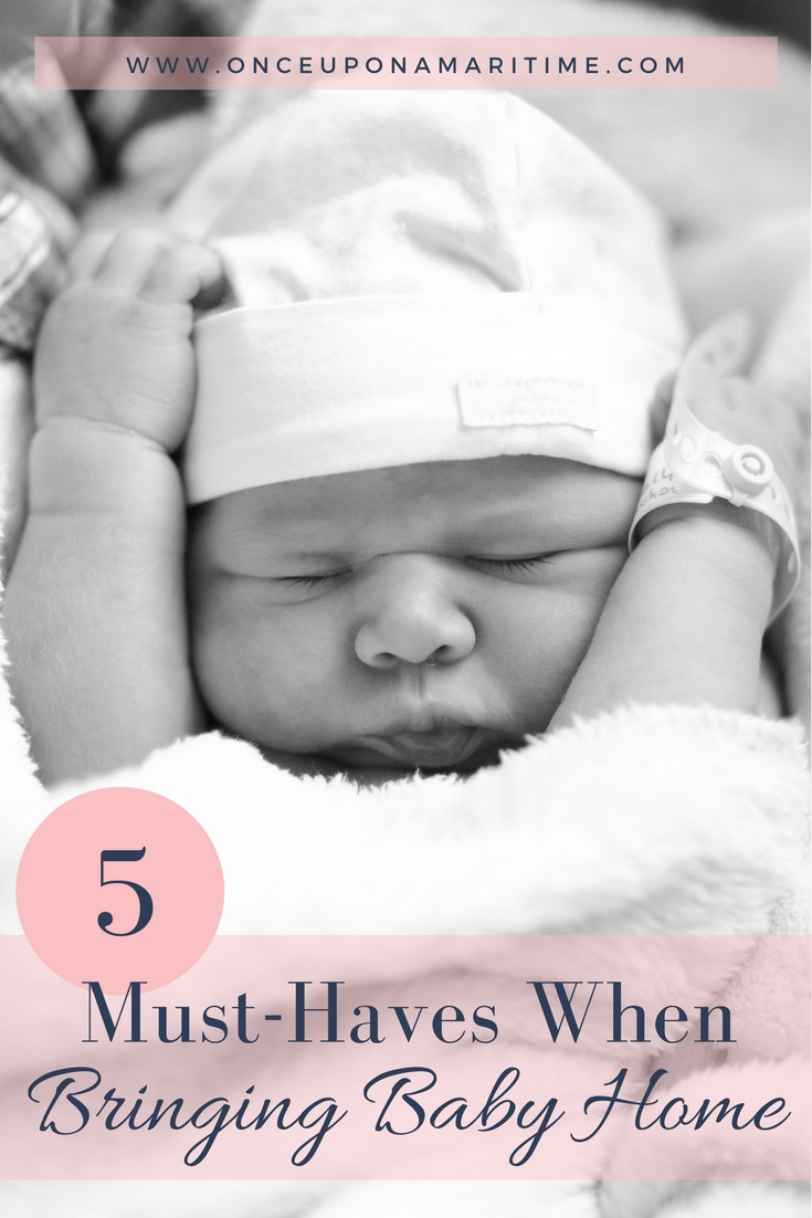5 Must-Haves When Bring Baby Home