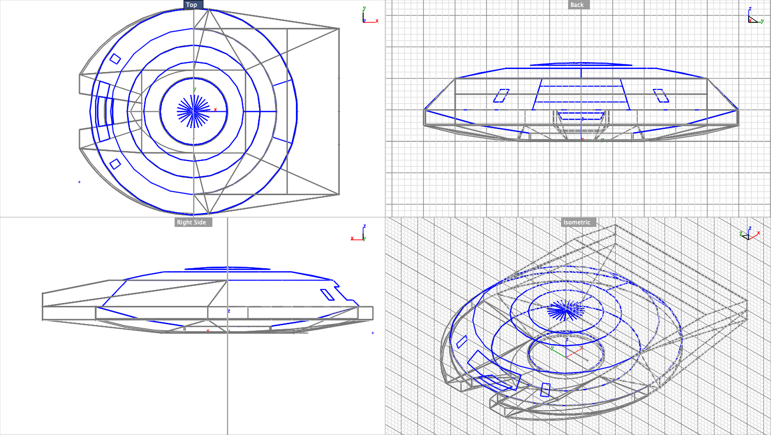MH J2 GEN 1 variant CRAFT SHELL & CAS,4-view, wireframe.jpg