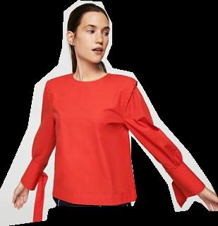Outfit para oficina - Asesoría de imagen ejecutiva - Blusa - MANGO - Saga Falabella