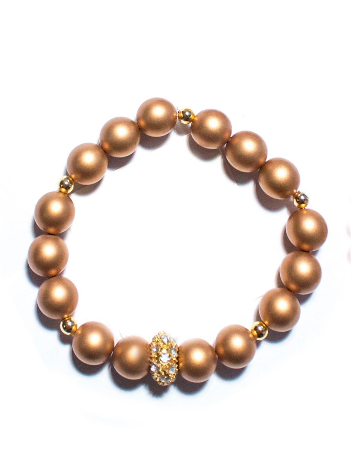 Asesoría de imagen ejecutiva - Pulsera Gold Crown - Hard Chic - VIPSOUL