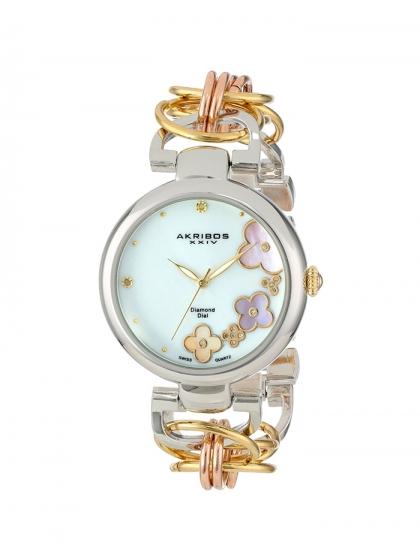 Asesoría de imagen ejecutiva - Reloj Mujer AK645TRI - Akribos XXIV - VIPSOUL