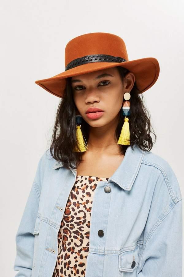 Outfit casual - Asesoría de imagen ejecutiva - Topshop Petra Round Felt Hat - Topshop - Topshop