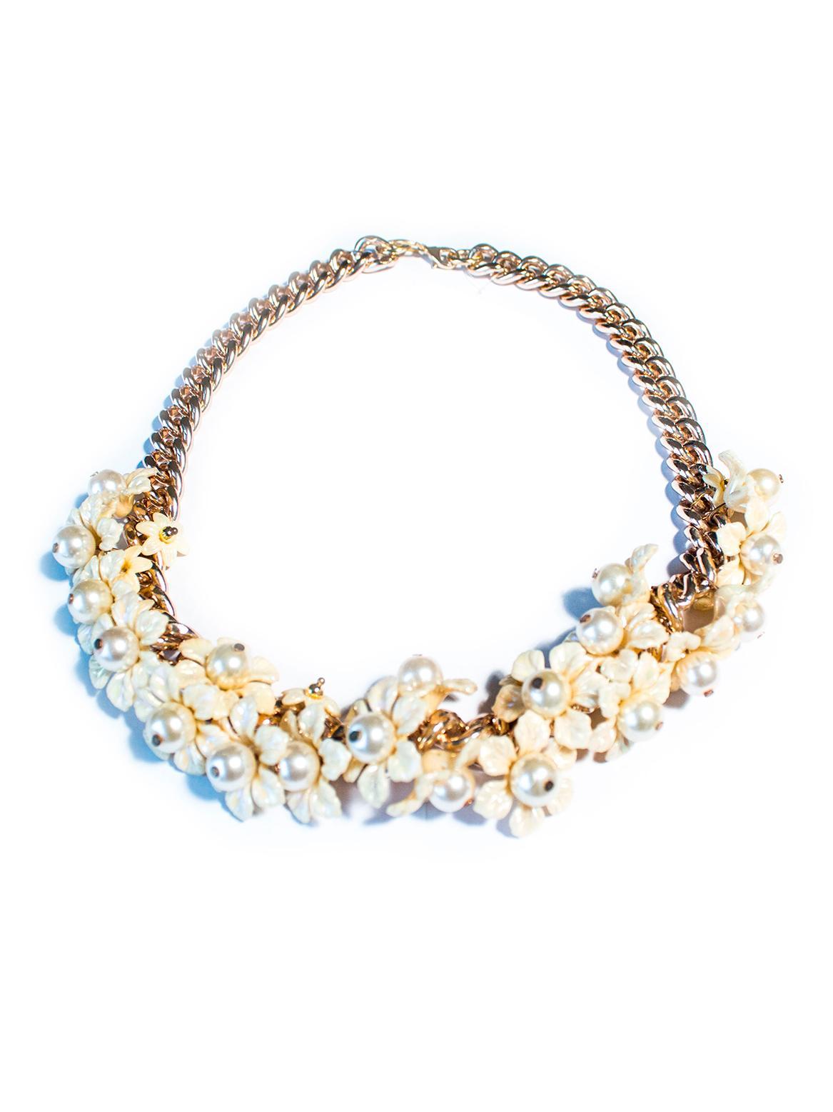 Asesoría de imagen ejecutiva - Collar floral power - Hard Chic - VIPSOUL