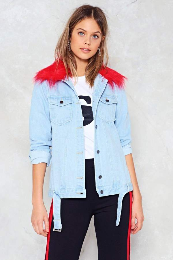 Outfit casual - Asesoría de imagen ejecutiva - Nasty Gal A Thing of the Contrast Denim Jacket - Nasty Gal - Nasty Gal