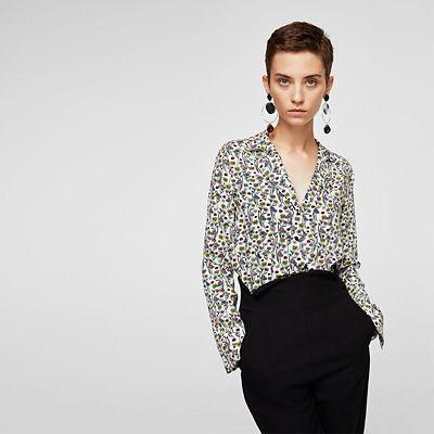 outfit ejecutivo - Asesoría de imagen ejecutiva - Camisa Mao - MANGO - Saga Falabella