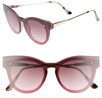 Outfit para gorditas - Asesoría de imagen ejecutiva - BP. 51mm Flat Cat Eye Sunglasses - BP - Nordstrom
