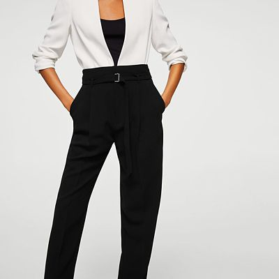 Outfit para oficina - Asesoría de imagen ejecutiva - Pantalón - MANGO - Saga Falabella