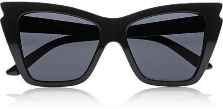 Outfit para oficina - Asesoría de imagen ejecutiva - Le Specs Rapture cat eye acetate sunglasses - Le Specs - NET-A-PORTER.COM