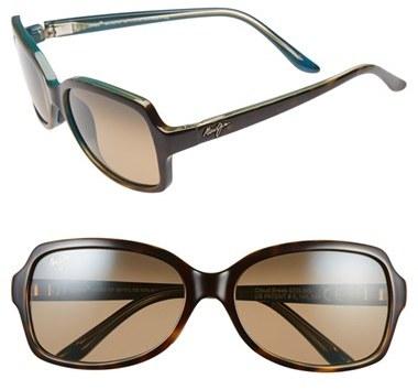 Outfit para oficina - Asesoría de imagen ejecutiva - Maui Jim 'Cloud Break' 56mm Polarized Sunglasses - Maui Jim - Nordstrom