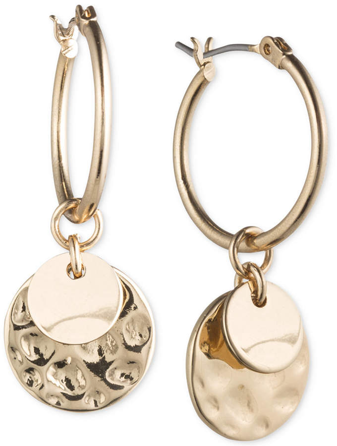 outfit ejecutivo - Asesoría de imagen ejecutiva - lonna & lilly lonna & lilly Gold-Tone Multi-Disc Hoop Earrings - lonna & lilly - Macy's