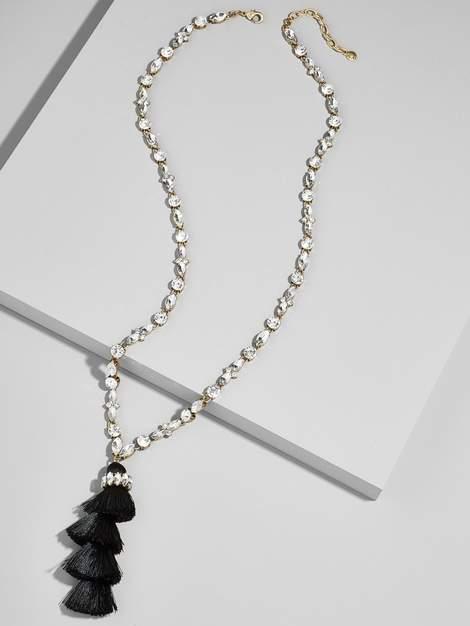 outfit para boda - Asesoría de imagen ejecutiva - BaubleBar Frosted Tassel Pendant Necklace - BaubleBar - BaubleBar