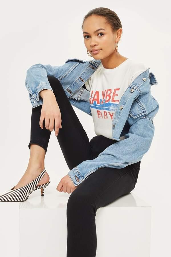 Outfit casual - Asesoría de imagen ejecutiva - Topshop MOTO Black Joni Jeans - Topshop - Topshop