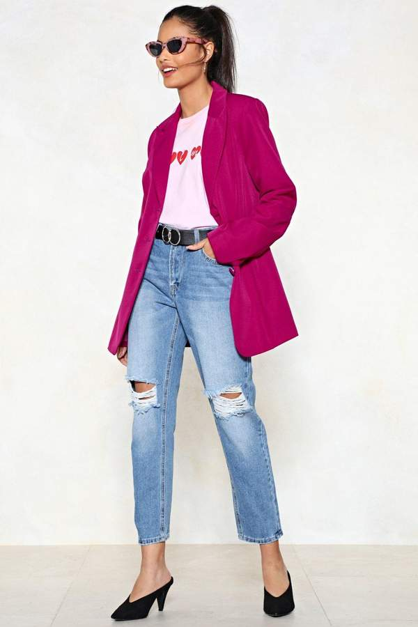 Outfit casual - Asesoría de imagen ejecutiva - Nasty Gal Bust This Case Mom Jeans - Nasty Gal - Nasty Gal