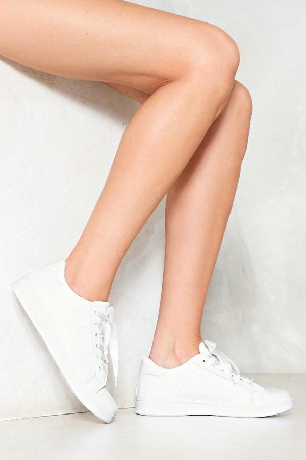 Outfit deportivo - Asesoría de imagen ejecutiva - Nasty Gal See You on The Court Sneaker - Nasty Gal - Nasty Gal