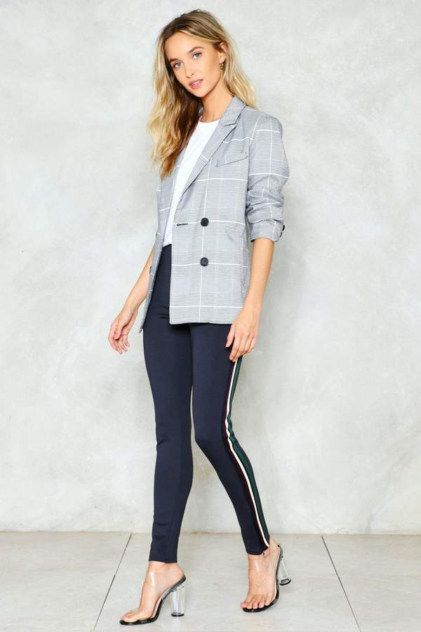 Outfit casual - Asesoría de imagen ejecutiva - Nasty Gal Not Just a One Stripe Girl Leggings - Nasty Gal - Nasty Gal